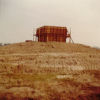 1970 Construction of Spirit Airport Tower