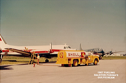1967 Fueling Ralston Purina's Gulfstream