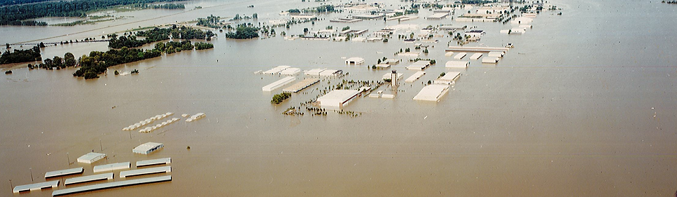 Flood of 1993 Spirit Airport