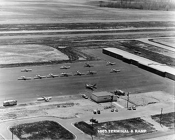 1985 Terminal Building and Ramp