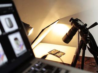 撮影するのは広いところの方が良いのです。