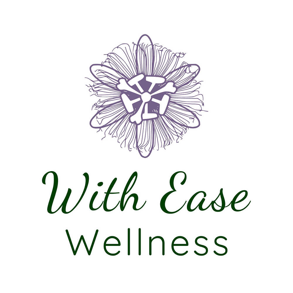 Logo for With Ease Wellness - Massage therapist, Walton on thames and surrounds.
