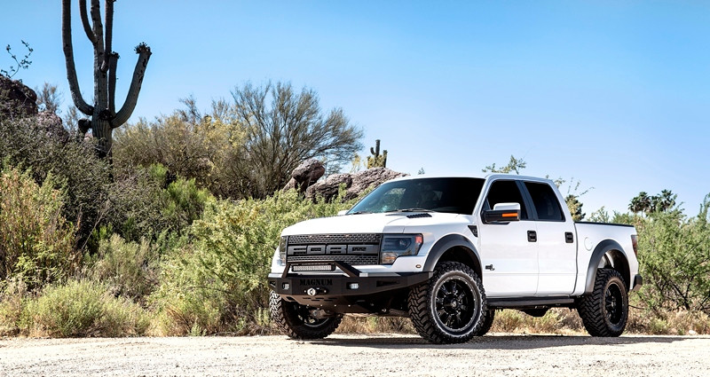 ICI's Magnum RT- Series Front Winch Bumper for the 2010 - 2013 Ford F150 SVT Raptor