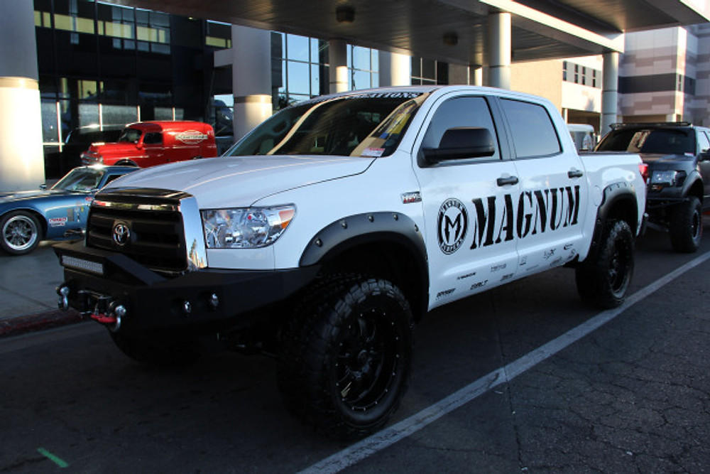 2013 Toyota Tundra outfitted with ICI's Magnum Bumpers