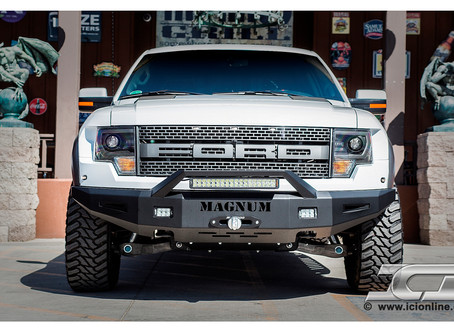 Magnum Bumper featuring RT-Series Light Bar