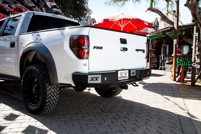 ICI's Magnum Rear Bumper for the 2010 - 2013 Ford F150 SVT Raptor