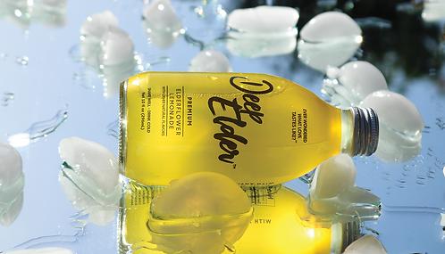 Deep Elder -12 Pack-Premium Elderflower Lemonade-