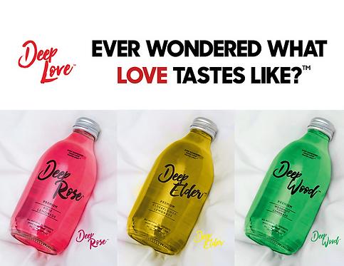 Sample pack: 1 bottle each flavor.