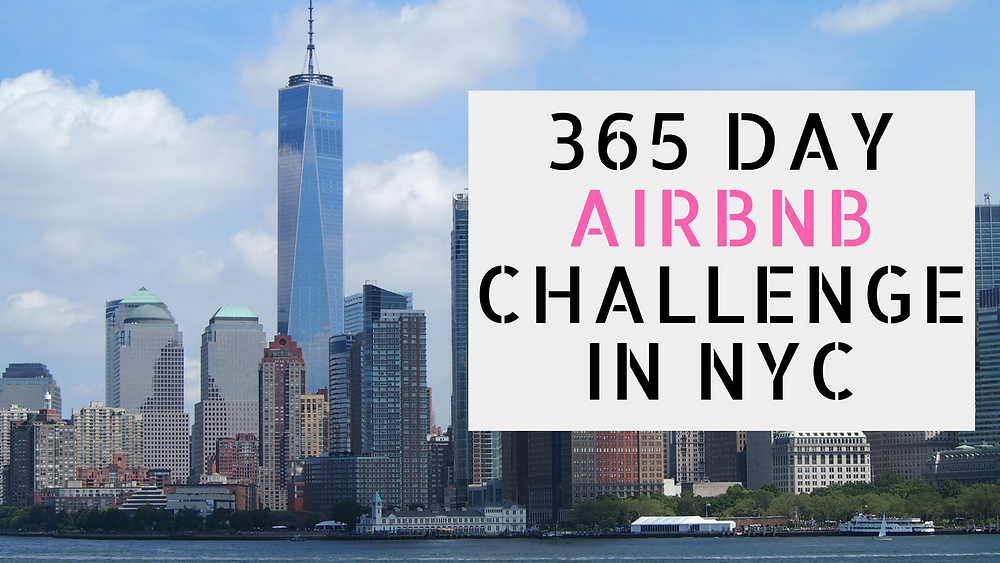 365 Day Airbnb Challenge In NYC