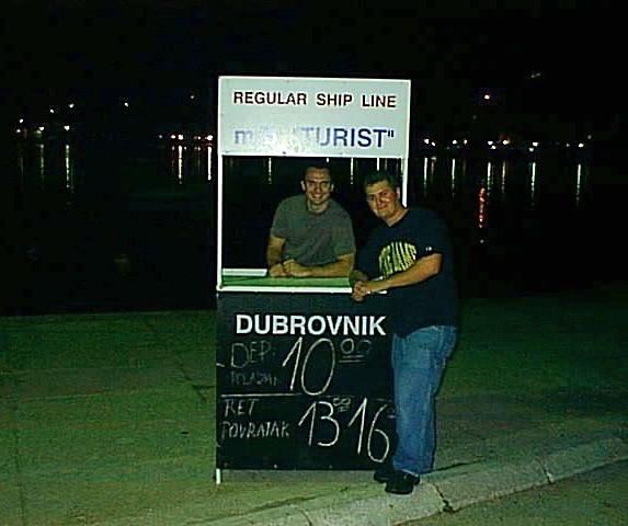 Dubrovnik, Croatia in 1999