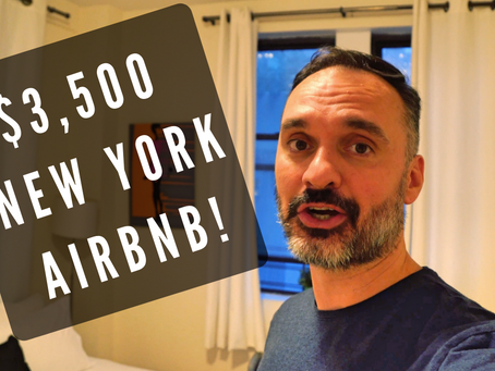 $3500 a Month Airbnb Studio in New York