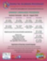 Spanish Program Flyer - Summer Semester.