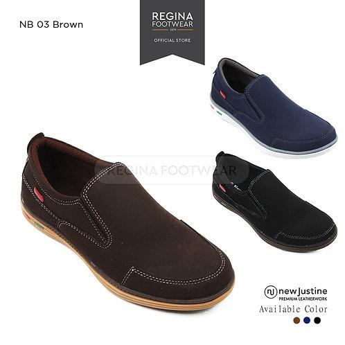 NEWJUSTINE Formal Man Shoes NB 03