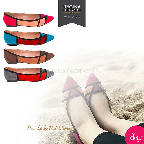 Dea Triangle Bikini Flat Shoes 1607-300