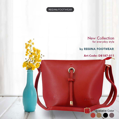 Regina Footwear - Tas Selempang Wanita Shoulder Bag DB187-011 (4 Warna)