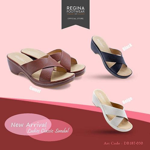 REGINA FOOTWEAR - Slipper Wedges Women DB187-030 Size 36/41
