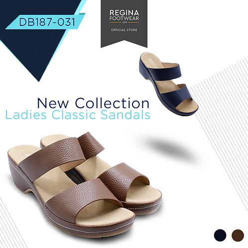 REGINA FOOTWEAR - Slipper Wedges Women DB187-031 Size 36/41
