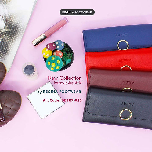 by REGINA Footwear - Dompet Wanita Long Multifungsi DB187-020