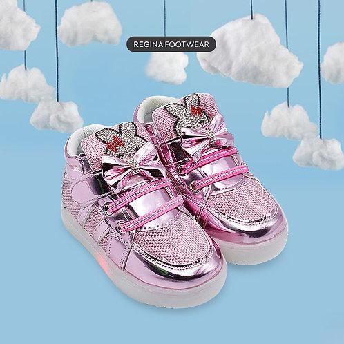 DEA Sepatu Sneaker LED Anak Perempuan 1706-108 Size 26-30