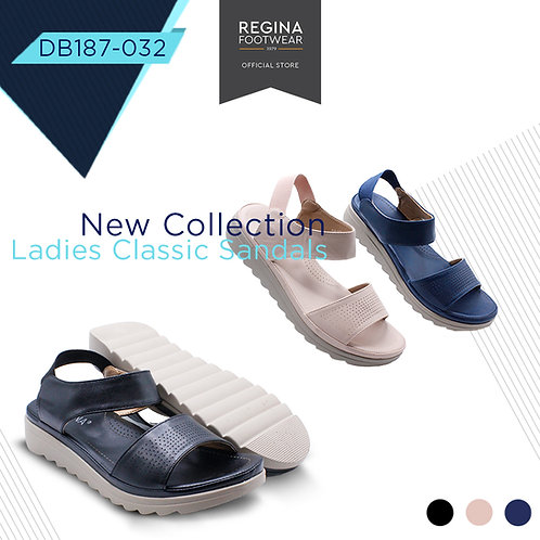 REGINA FOOTWEAR - Slipper Wedges Women DB187-032 Size 36/41