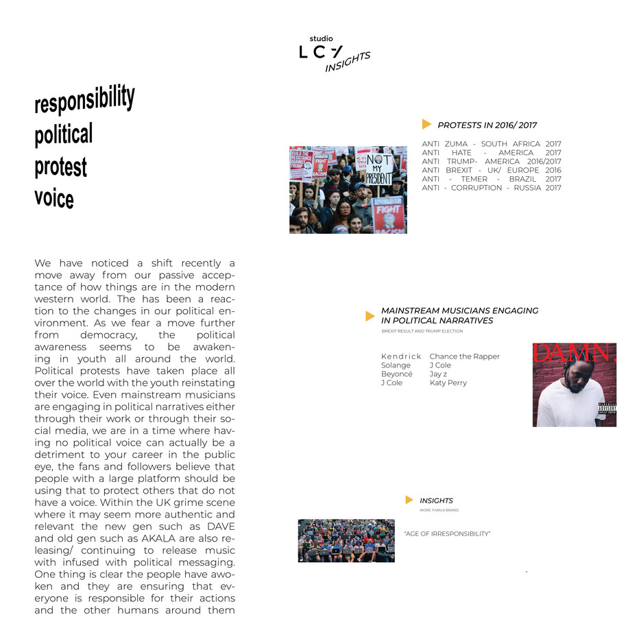 Creative Concept report FW18 Daily Paper