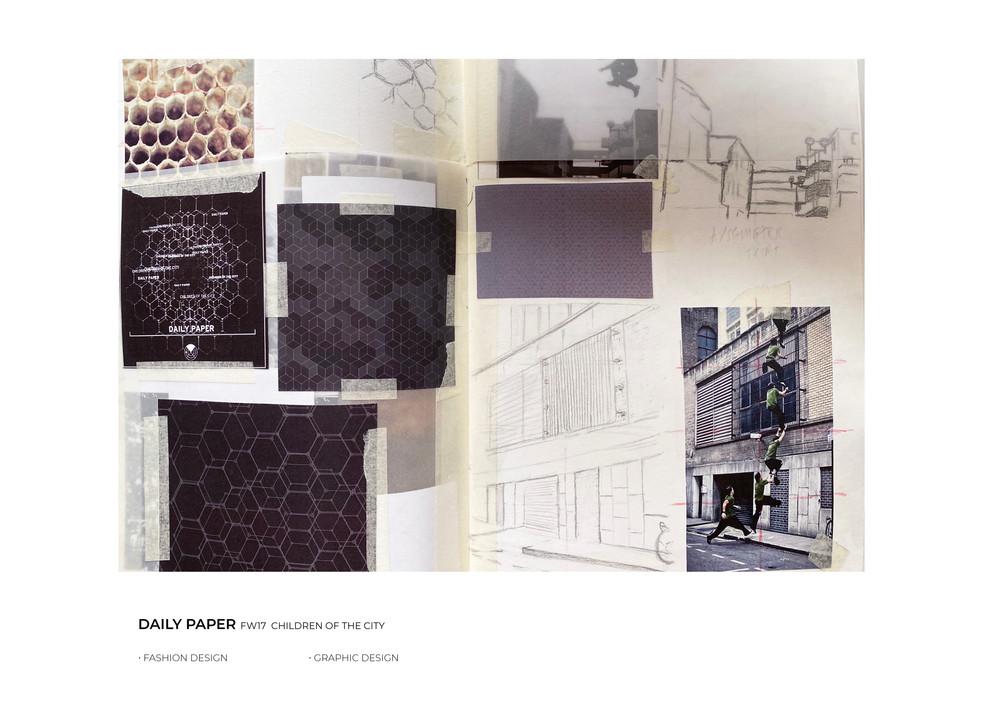 Sketches fashion design