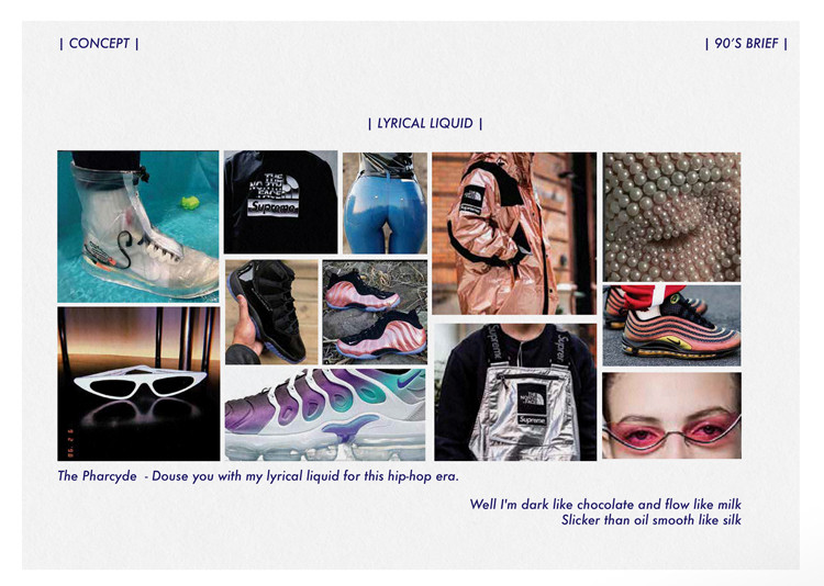 Lyrical Liquid Material Concept for supra