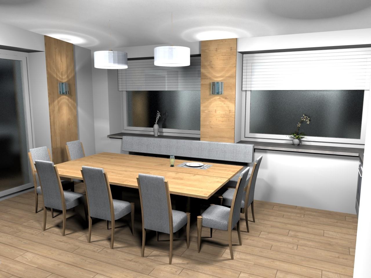 Nebenküche & großer Tisch (1)