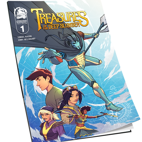 Treasures of the Deep Slumber: Issue #1 First Edition Variant Cover