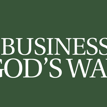 Business God's Way - Self Employment, Business & Work From Home Opportunities