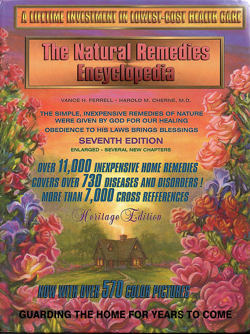 The Natural Remedies Encyclopedia - Seventh Edition