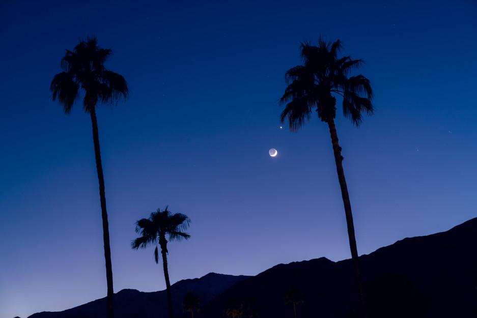 California night.