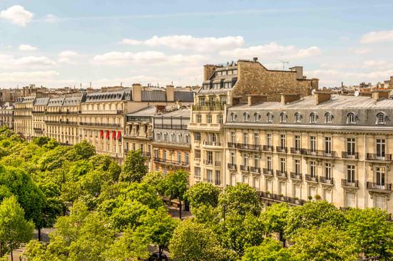 Building in Paris.