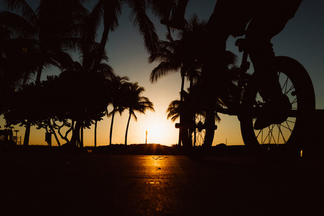 Street sunrise.