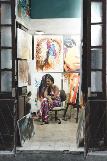 Cuban artist.