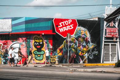 Stop wars.
