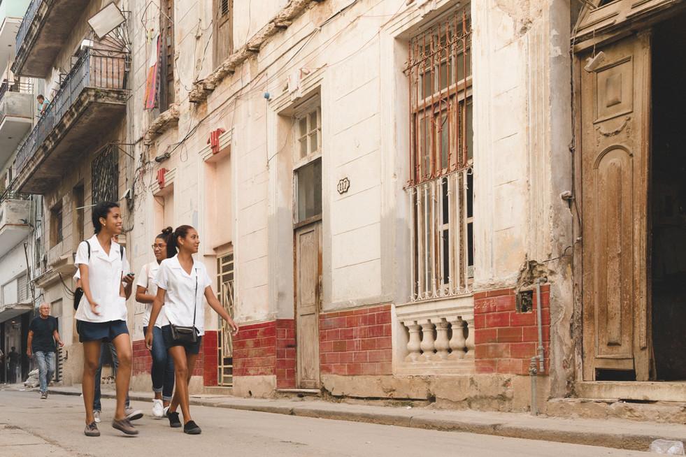 Cuban students.