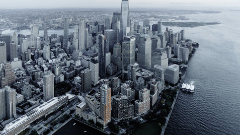 Landing to New york