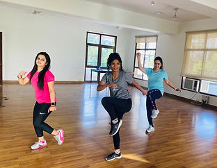 Let's groove and get fit with Pooja