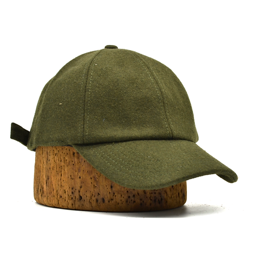 Wool Hat with Ear -Flaps Green