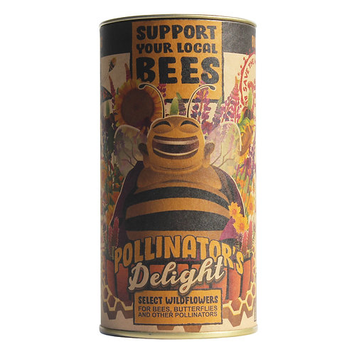 Pollinator's Delight - Flower Seed Grow Kit