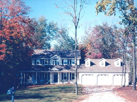 Custom home by builder