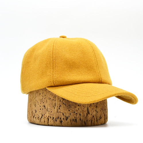 Wool Hat with Ear Flaps -Yellow