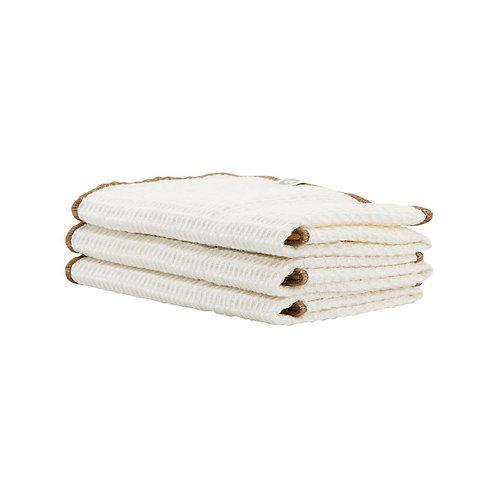 Bihar Cloth - Nougat Set of 3