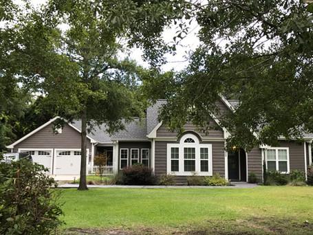 Custom home of builder