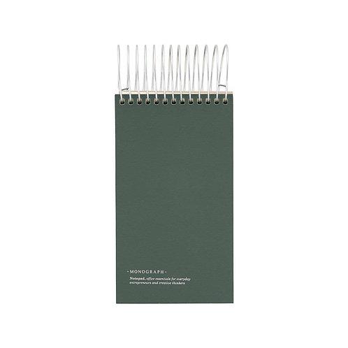 Notepad Dark Green