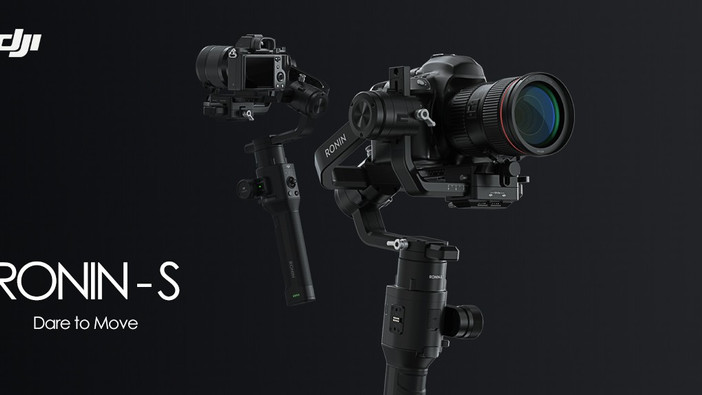 DJI Ronin-S is now in the house!