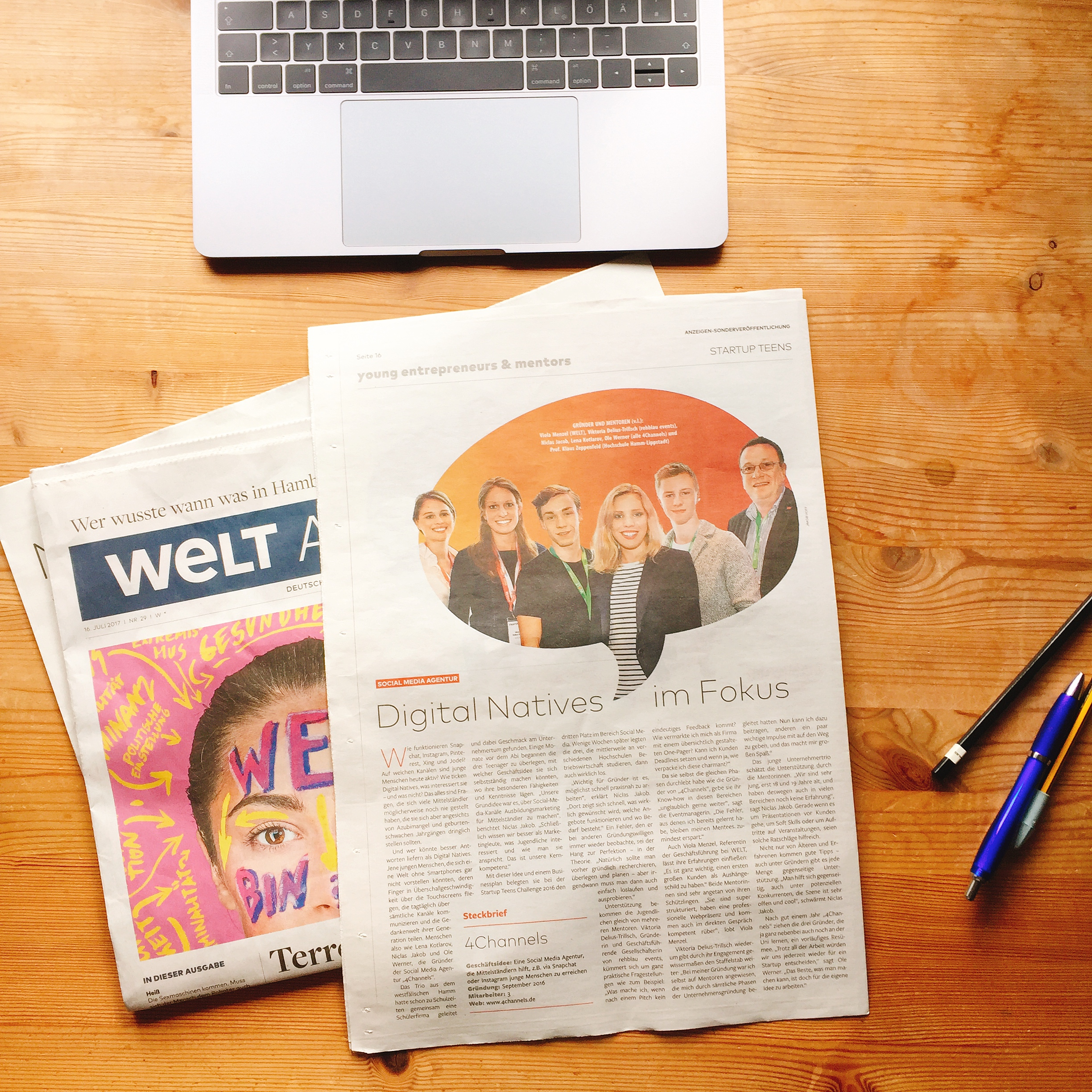 4Channels-WELT am Sonntag