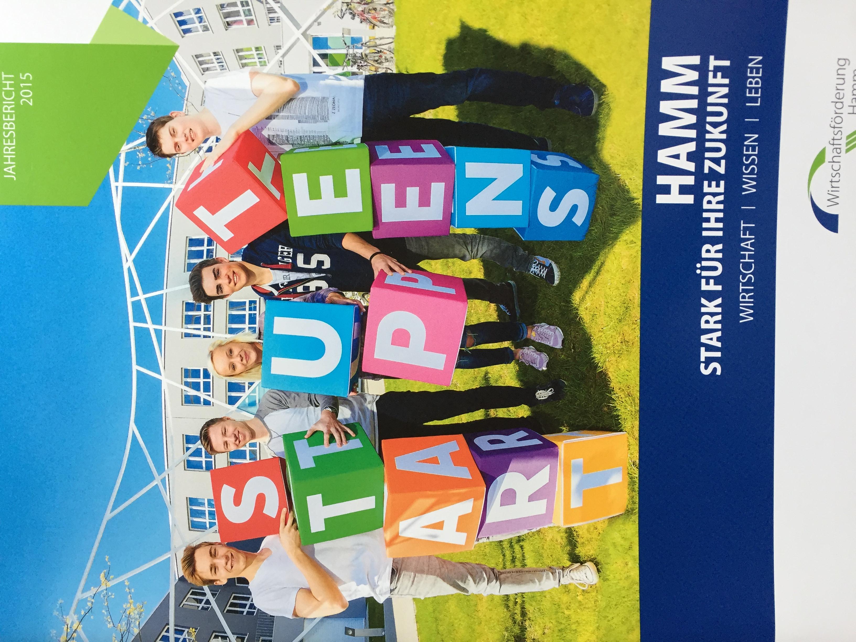 Cover Wirtschaftsförderung Hamm