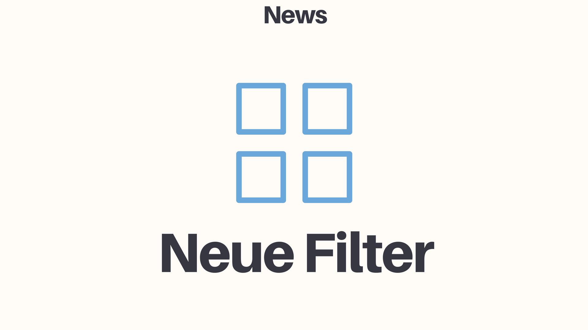 Beispiel: Filter